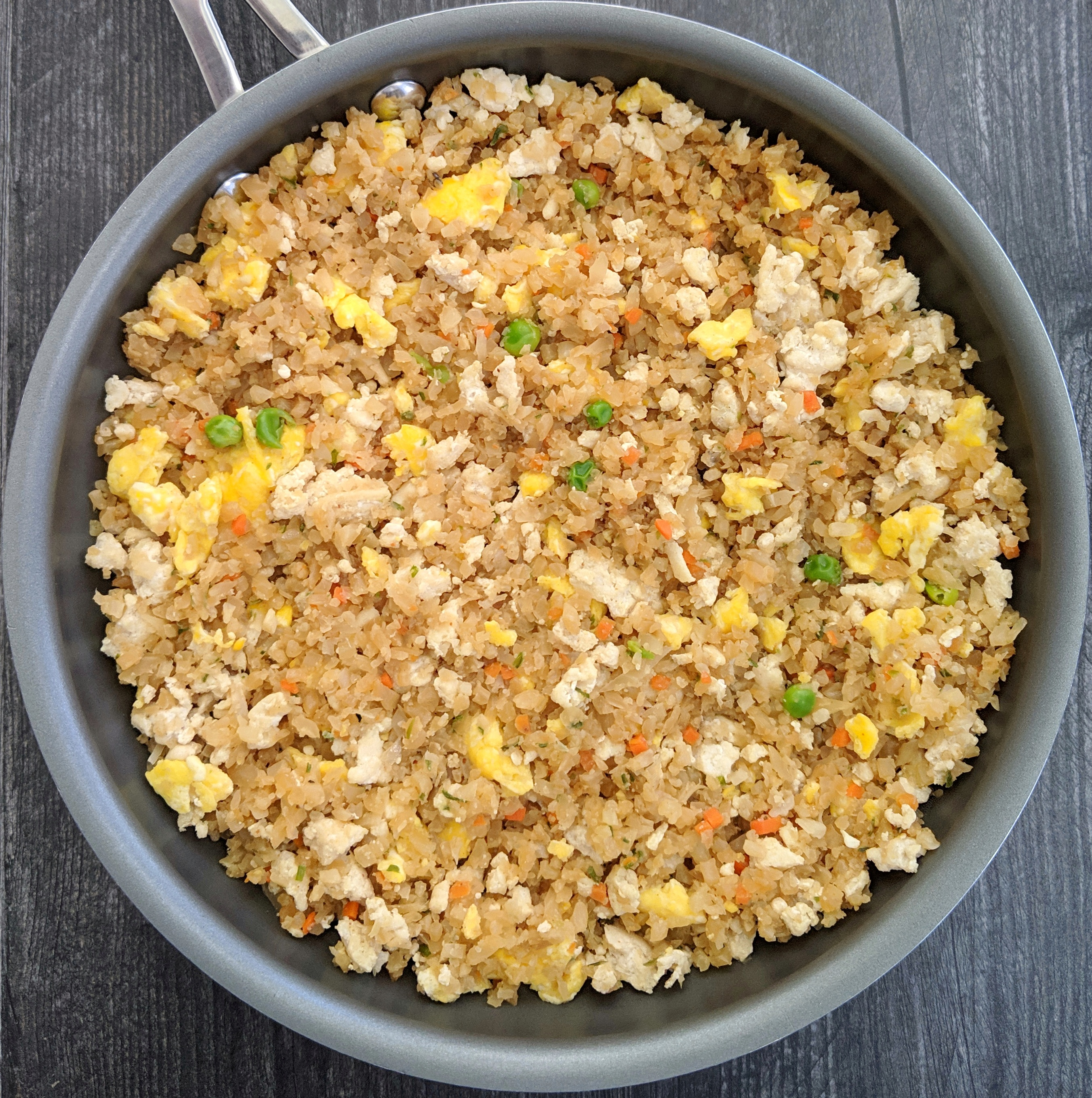 Chicken Fried Cauliflower Rice Getfitlaura