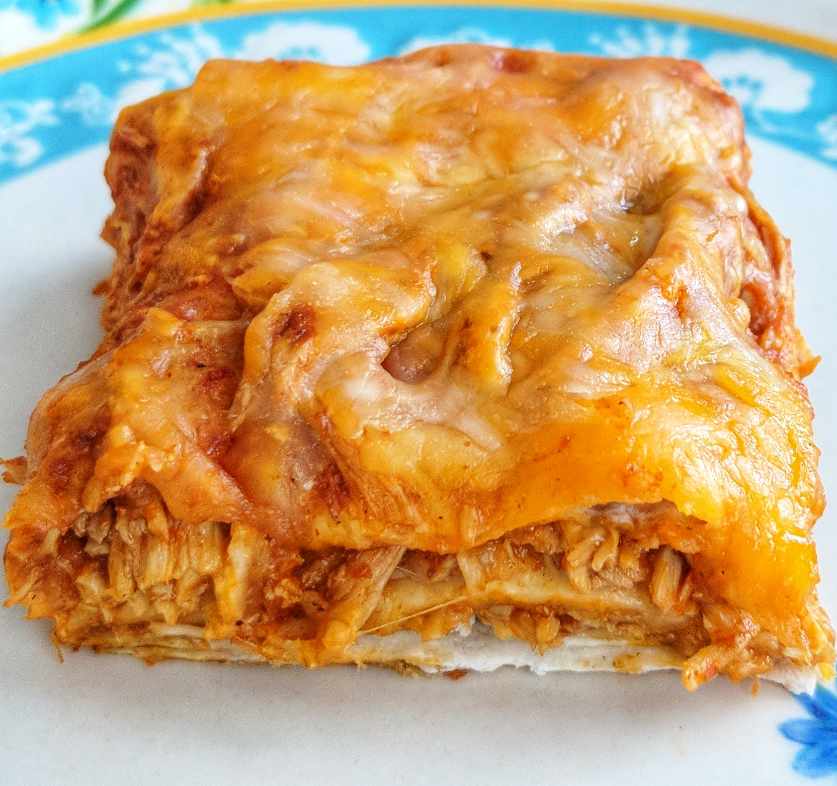 Low Carb Chicken Enchilada Bake Getfitlaura